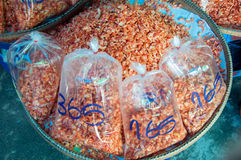 Crevette sèche Images stock