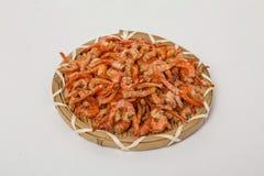 Crevette sèche de fruits de mer images stock