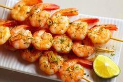 Crevettes épicées frites Photographie stock libre de droits