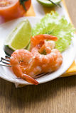 Crevettes Photographie stock