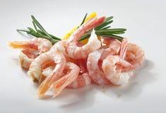 Crevettes photographie stock libre de droits