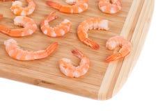 Crevettes bouillies Images libres de droits