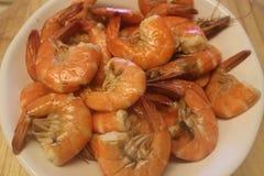 Crevettes cuites Image stock