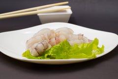Crevettes d'oeufs de poisson Photos stock