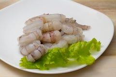 Crevettes d'oeufs de poisson Image stock