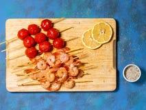 crevettes photo libre de droits