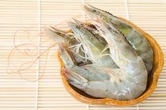 Crevettes fraîches de golfe Images stock