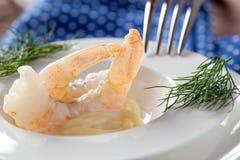 Crevettes roses Image libre de droits