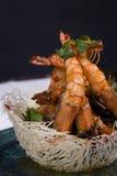 Crevettes roses Photo libre de droits