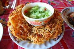 crevettes roses Battre-frites Image libre de droits