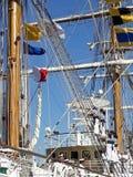 Crew on deck Stock Photography