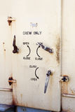 Crew Only Door Royalty Free Stock Images