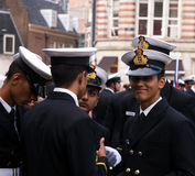 Crew Parade Sail 2015 Royalty Free Stock Photo