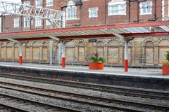Crewe railway station Royalty Free Stock Image