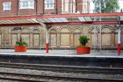 Crewe railway station Stock Photography