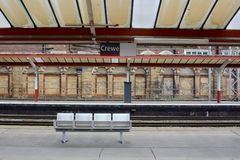 Crewe Railway station Royalty Free Stock Images