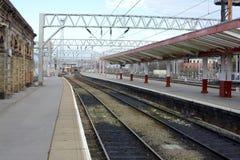 Crewe Railway station Royalty Free Stock Photos