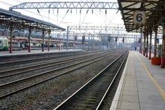 Crewe Railway station Royalty Free Stock Photo