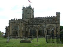 Crewkerne church, Somerset, U.K. Royalty Free Stock Images