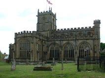 Crewkerne kościół, Somerset, U K obrazy royalty free