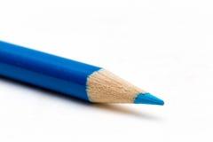 Creyón azul Fotografía de archivo