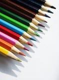 Creyón coloreado fotografía de archivo libre de regalías