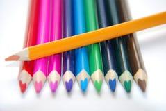Creyón colorido Fotos de archivo libres de regalías