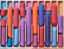 Creyones Foto de archivo libre de regalías
