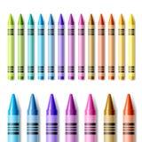 Creyones coloridos Imagen de archivo