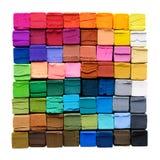 Creyones coloridos Foto de archivo