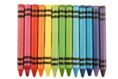 Creyones del color Imágenes de archivo libres de regalías