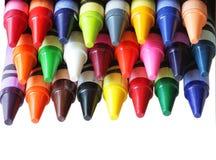 Creyones del color Imagenes de archivo