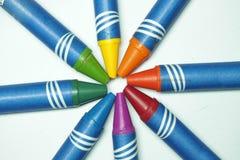Creyones del color Imagen de archivo
