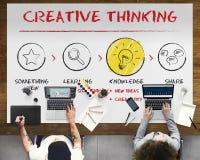 Créez le concept d'idées d'inspiration d'innovation d'imagination Photographie stock libre de droits