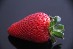 Strawberry food agriculture isolated vitamin delicious healthful fruit Sao Paulo Brazil. Strawberry agriculture isolated vitamin delicious healthful fruit Sao royalty free stock photo