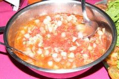 Vinaigrette tomato onion recipe sauce food detail healthful Sao Paulo Brazil stock images
