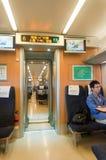 CRH fast train crh1 Interior Royalty Free Stock Photography