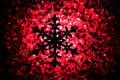 Crhistmas snowflake star symbol Royalty Free Stock Photo