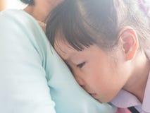 Cri asiatique de bébé Images libres de droits