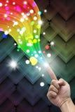 Cri il Rainbow Fotografia Stock Libera da Diritti