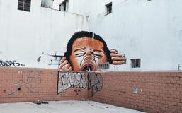 Cri perçant de Buenos Aires image libre de droits