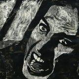 cri perçant Images libres de droits