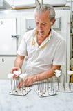 Criação cor-de-rosa do açúcar foto de stock royalty free