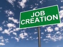 Criação de emprego Fotografia de Stock