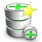 Criação de uma base de dados nova Fotografia de Stock