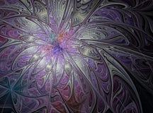 Criação digital abstrata a rainha da neve Imagens de Stock Royalty Free