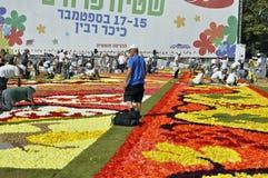 Criação do tapete da flor Foto de Stock