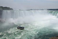 Criada Of The Mist, caída de herradura Niagara Falls Ontario Canadá Imagen de archivo