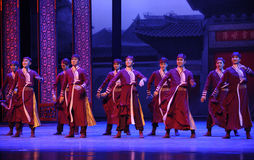 Criado de la familia- de un acto grande primero de los eventos del drama-Shawan de la danza del pasado fotografía de archivo