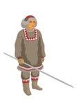 Criador da rena de Chukchi Imagem de Stock